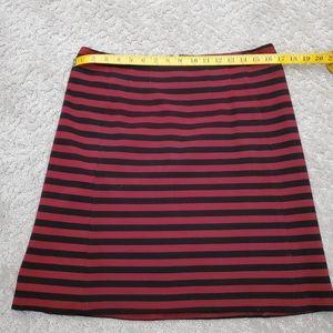 Banana Republic Striped Skirt nwt